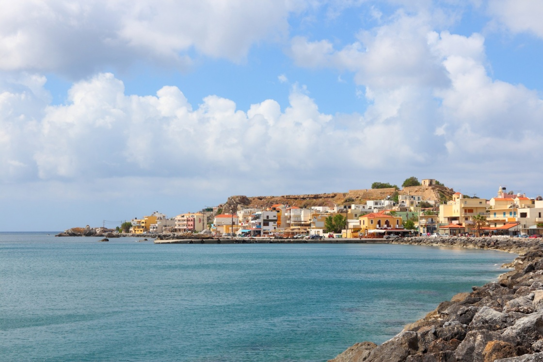'Chania, town on Crete island in Greece. Old town of Paleochora (or Palaiochora).' - Hania